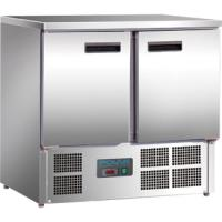Special Offer:COMPACT RANGE 2 DOOR 1/1 GN STAINLESS STEEL WORK TOP COUNTER FRIDGE 8.5CU.FT/240LITRES