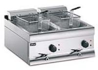 Special Offer:LINCAT DF66 DOUBLE ELECTRIC COUNTER TOP FRYER 2x9L - 2x3KW