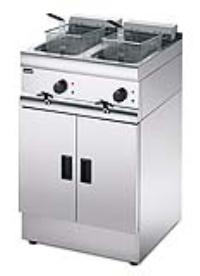 Special Offer:LINCAT J12 FREE STANDING DOUBLE TANK DOUBLE BASKET ELECTRIC FRYER 2X9L - 2X6KW